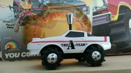 NOS White 1980's A-Team Rough Rider Stomper Chevy Corvette 4 x 4 *see desc - $50.99
