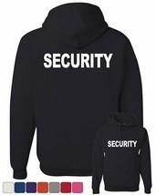 Security Hoodie Bouncer Police Event Staff Uniform Guard Sweatshirt - $29.42+