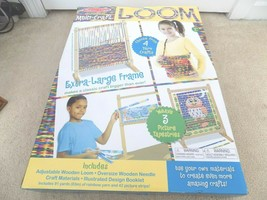 NEW IN BOX ~ Melissa & Doug Wooden Multi-Craft Weaving LOOM & Craft Mate... - $39.59