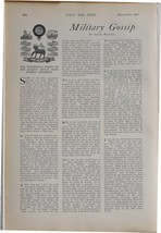 1915 WW1 ARTICLE & PICS NAVY & ARMY EDITORIAL REGIMENTAL BADGE ROYAL WES... - $71.58