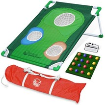 GoSports BattleChip Backyard Golf Cornhole Game | Includes Chipping Targ... - $54.67