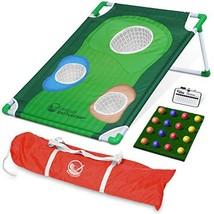 GoSports BattleChip Backyard Golf Cornhole Game | Includes Chipping Targ... - $54.67