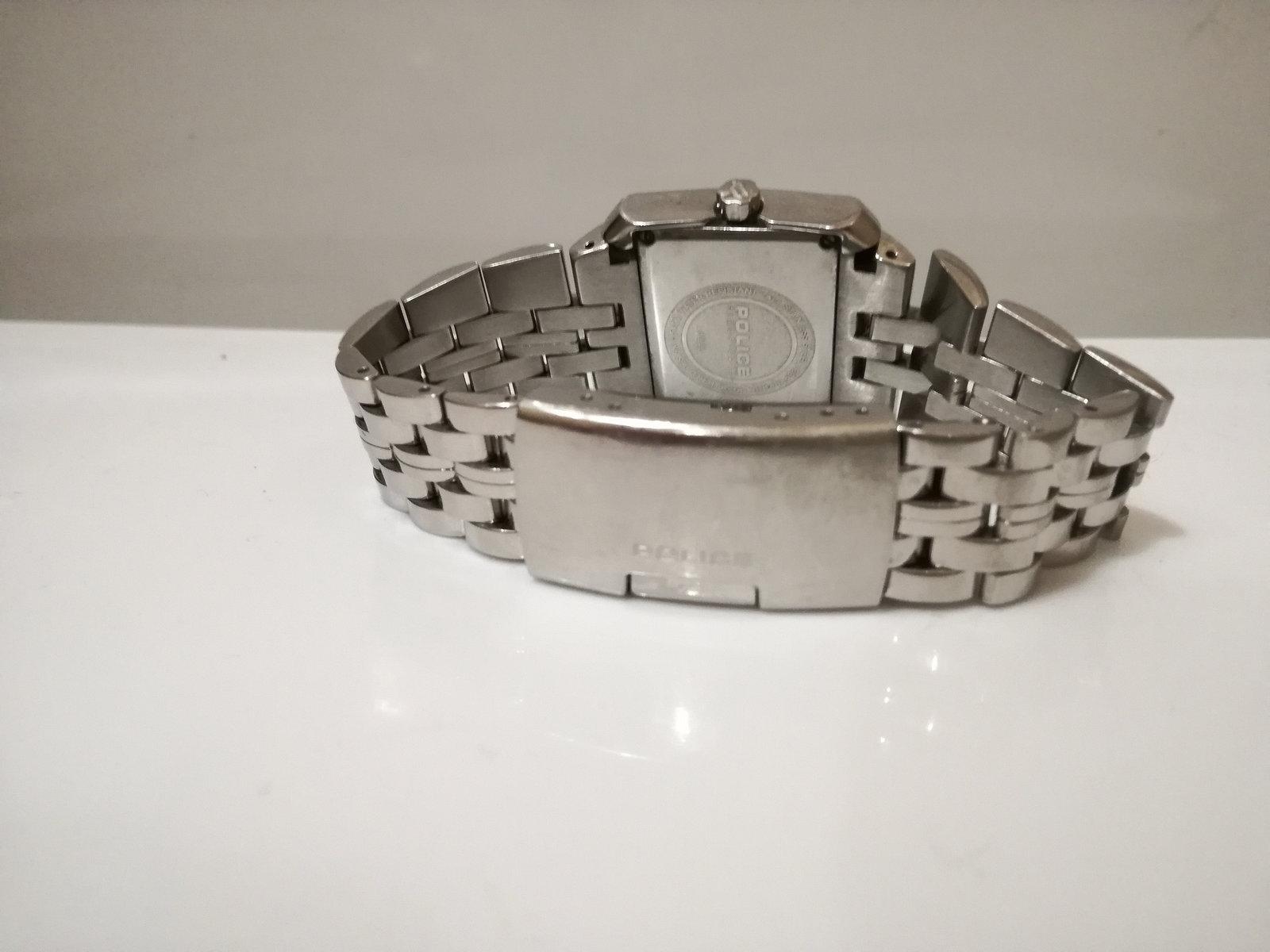 unisex Dress watch /   Police watch / quart watch / metal watch / vintage ladies image 6