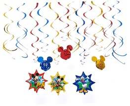 NEW American Greetings Mickey Mouse Clubhouse Hanging Party Decorations - $7.50