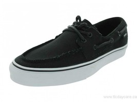 Original Vans Zapato Del Barco VN-0XC36BT Black Canvas Casual Men - $54.95