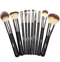 Matto Makeup Brushes 10-Pieces Makeup Brush Set, Premium Cruelty-Free Sy... - $17.23