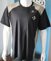 Converse Mens Training Tee  Sizes L XL Black  T-Shirt - $23.84