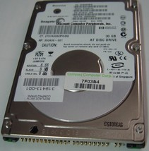 ST93012A Seagate 30GB IDE 2.5 inch Hard Drive Tested Good Free USA Shipping - $29.35