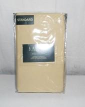 Lauren Ralph Lauren Dunham Sateen Italian Straw Standard Pillowcases NIP - $19.80