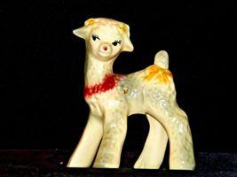 Ceramic Lamb Figurine AA19-1559 Vintage image 3