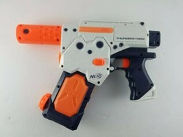 Nerf Super Soaker Thunderstorm w/ Magazine Clip Tested Works Full Auto W... - $32.99