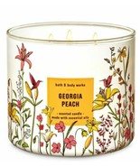 Bath & Body Works Georgia Peach 3 Wick Scented Candle 14.5 oz - $27.10