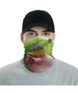 Wild Warbler Bird On Hand Tube Bandanna Neck Gaiter face mask and neck w... - $21.95