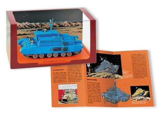 Tintin Lunar Tank limited edition 1/43 die-cast vehicule