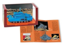 Tintin Lunar Tank limited edition 1/43 die-cast vehicule image 1