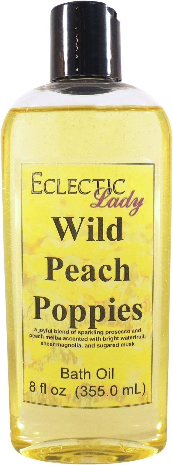 Wild Peach Poppies Bath Oil