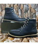 TIMBERLAND MEN'S REDWOOD FALLS WATERPROOF MOC-TOE BOOTS STYLE 0A22EEE SI... - $112.50