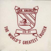 USS GRIDLEY CG 21 Decal Sticker US Navy - $1.24