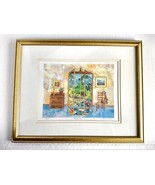 Susan Johnson Signed Numbered Art Print French Doors - $98.99