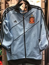 Adidas Spain Classic Jacket Sky Blue Size L - $64.34