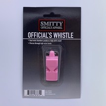 SMITTY | Pink Pealess Whistle | WH14-PINK | Referee Officials Choice! - $8.59