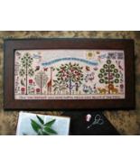 Paradise Lost cross stitch chart Plum Street Samplers  - $19.80