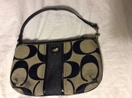 Coach Clutch Purse. Black & Gray  - $19.99