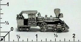 Train Engine Fine Pewter Figurine - Approx. 1 1/2 inches (T251) image 2