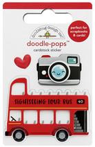 Doodle-Pops 3D Sticker Doodlebug Designs  image 1