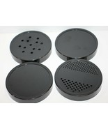 The Original Magic Bullet Lids Replacement Parts Shaker and Storage Lot 4  - $11.69