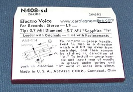 369-DS77 for Electro-Voice EV 5081 for Sears 33-487 TURNTABLE STYLUS NEEDLE image 2