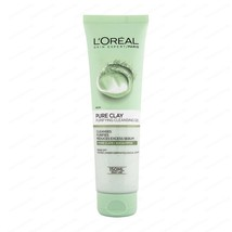 L'OREAL PURE CLAY PURIFYING CLEANSING GEL SKIN CLEANSING CLAYS WITH EUCA... - $11.23