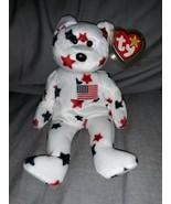 TY Beanie Baby Glory Bear Red Stamp 400 - $356.25