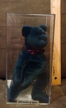 RARE Authenticated Ty New Face Jade Teddy Beanie Baby - 1st gen Tush. - $179.99