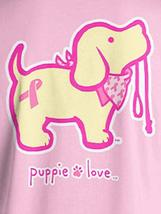 Puppie Love Rescue Dog Adult Unisex Short Sleeve Graphic T-Shirt, BCA Pup image 2
