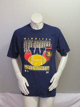 Winnipeg Blue Bombers Shirt (VTG) - Large W and Football Graphic - Men's XL - $45.00