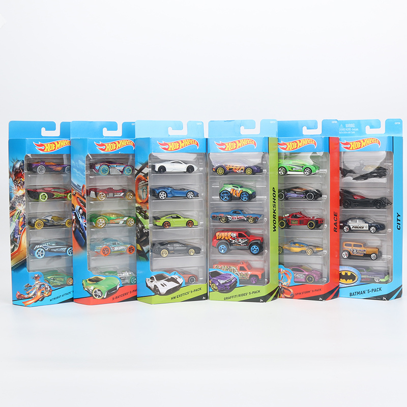 "Original 5pcs/box Hotwheels ""DRAGON BLAST"" Mini Car Collection Model Toys 1:64 F"