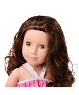 MeiMei 18 inch Girl Doll with Brown Hair Brown Eyes Full Vinyl Swimsuit ... - $41.15