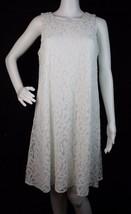 Tommy Hilfiger women's white laces dress sleeveless nylon viscose size 6 - $22.78