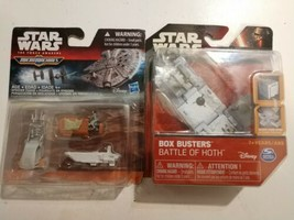 Star Wars Classic Box Busters Single Pack Battle Of Hoth & TFA Micromachines Set - $16.82