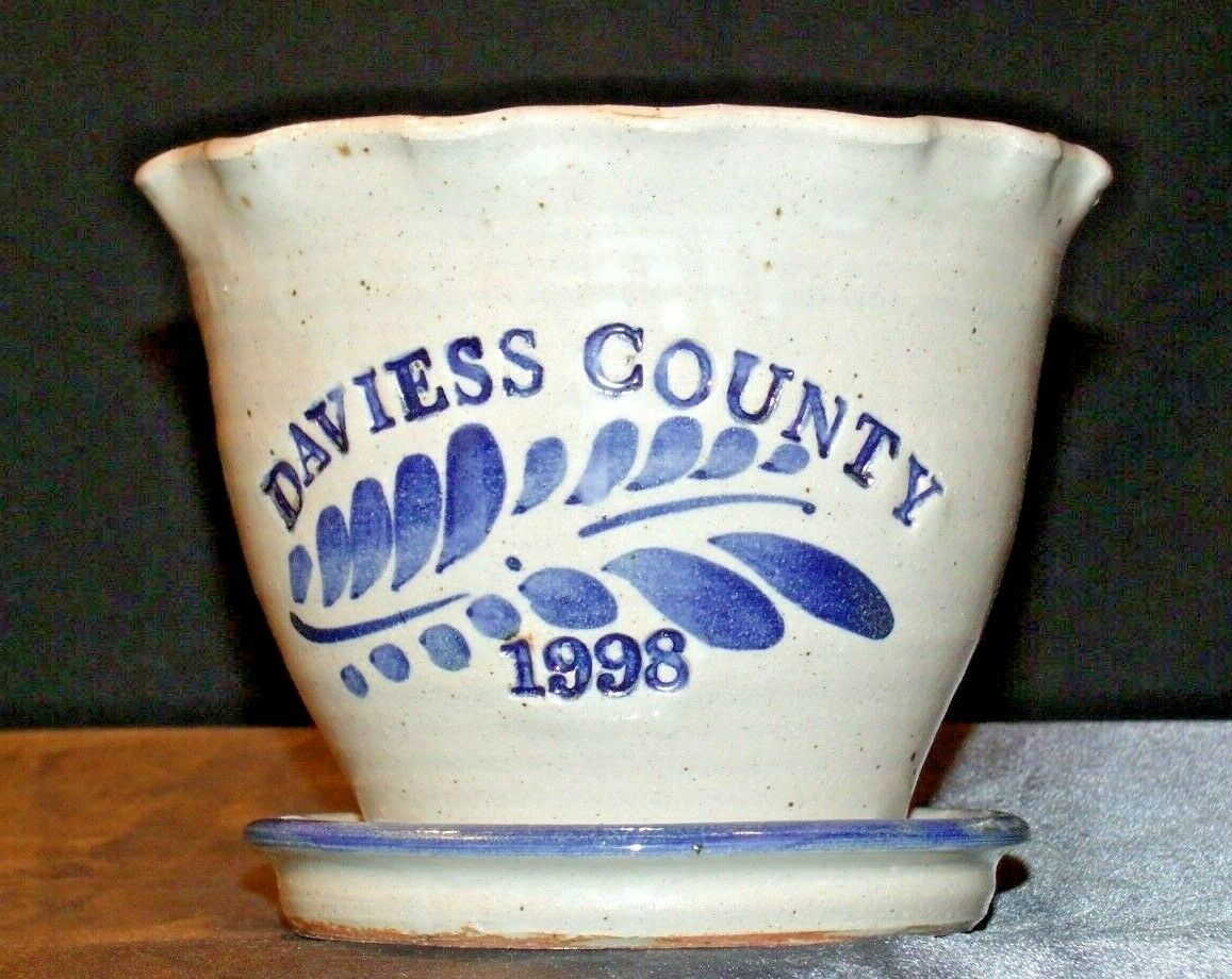 Daviess County Westerwald Stoneware Decorative Planter AA-191831