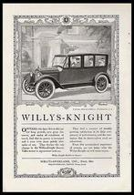 Willys-Knight Chauffeur Belgian Embassy 1920 Print Ad - $15.99