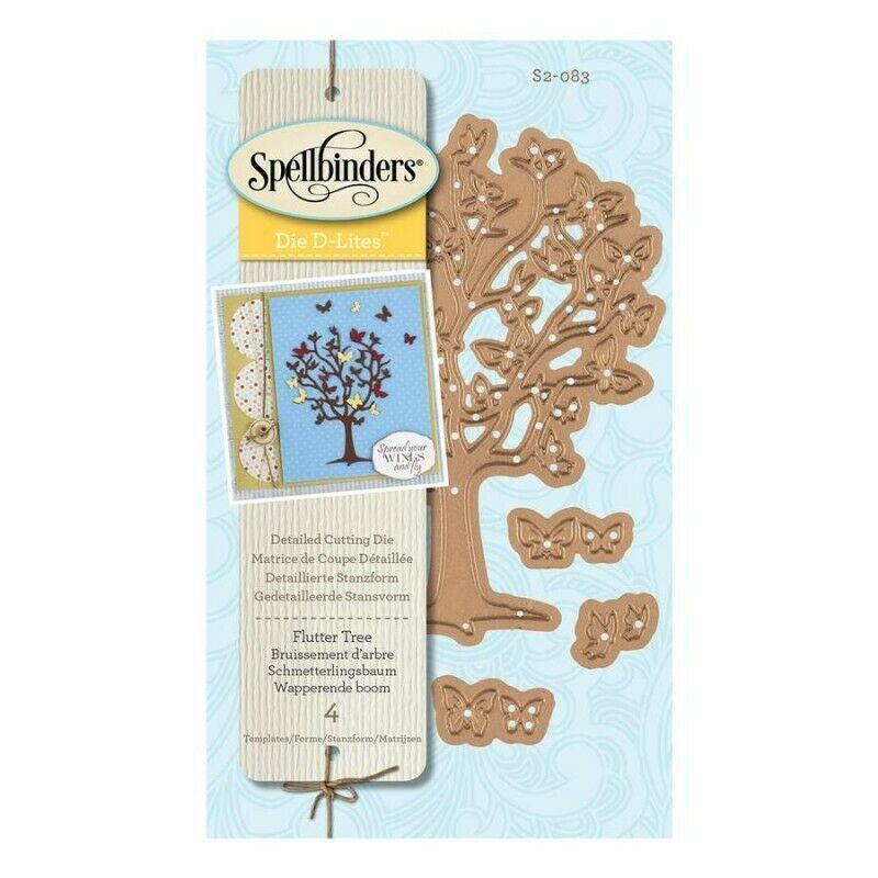 Spellbinders Flutter Tree Die Set #S2-083