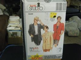 Burda 3757 Misses & Plus Blazer Pattern - Size 10-28 - $5.88