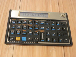 Hewlett-Packard 12C Financial Calculator Working Condition Vintage 1984 - $37.25