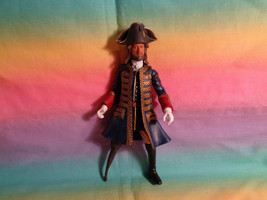 2011 Disney Pirates of the Caribbean Captain Barbossa Action Fig Jakks P... - $10.15