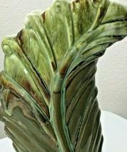 """Green Leaf Vase 11"""" Royal Haeger R732  - $51.04"""