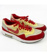 Nike Air Maxim +1 Mens Size 13 Style#366488-161 2009 Red Gray Sneakers - $79.20