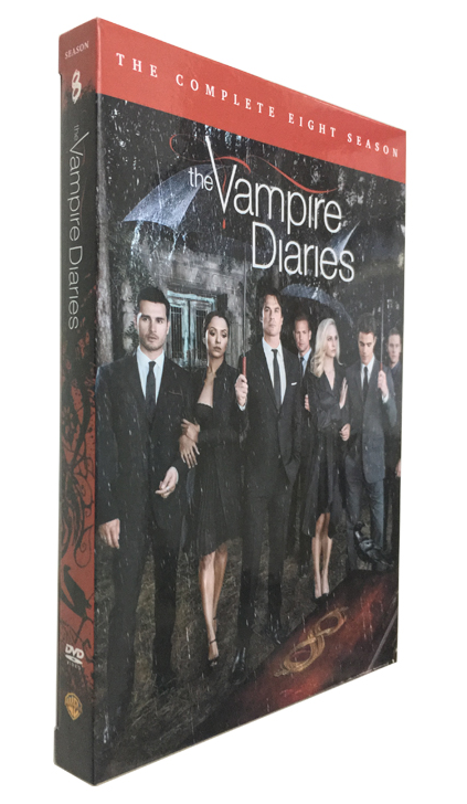 The Vampire Diaries The Complete Season 8 DVD 3 Dsic Box Set Free Shipping New