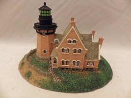 The Danbury Mint - SE Block Island - Historic American lighthouses - 199... - $9.41